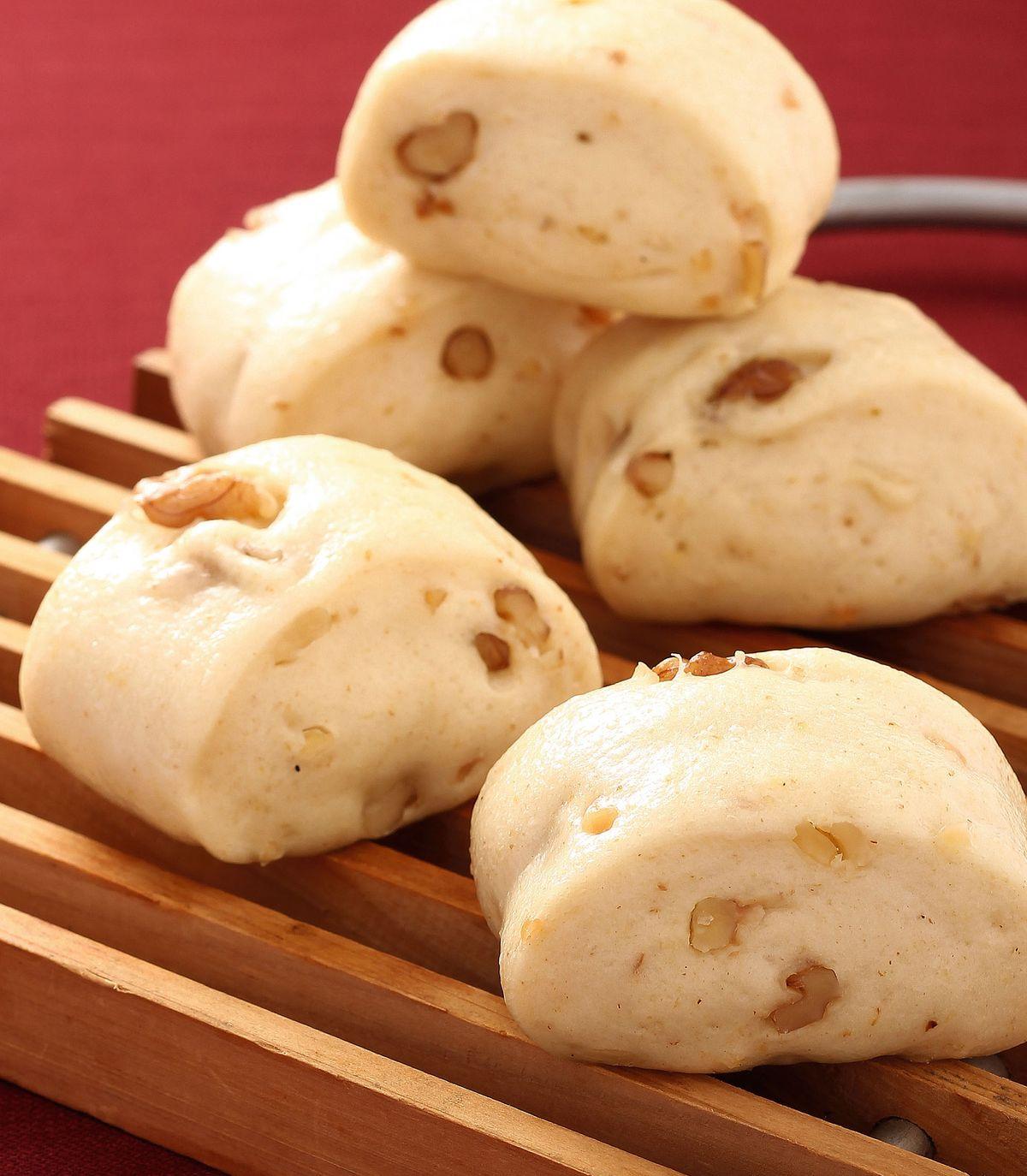 食譜:胚芽堅果小饅頭