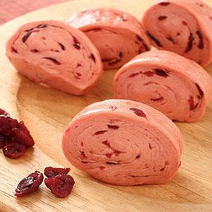 紅麴蔓越莓小饅頭