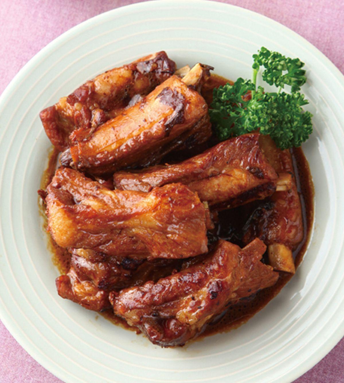食譜:蔥燒排骨(6)