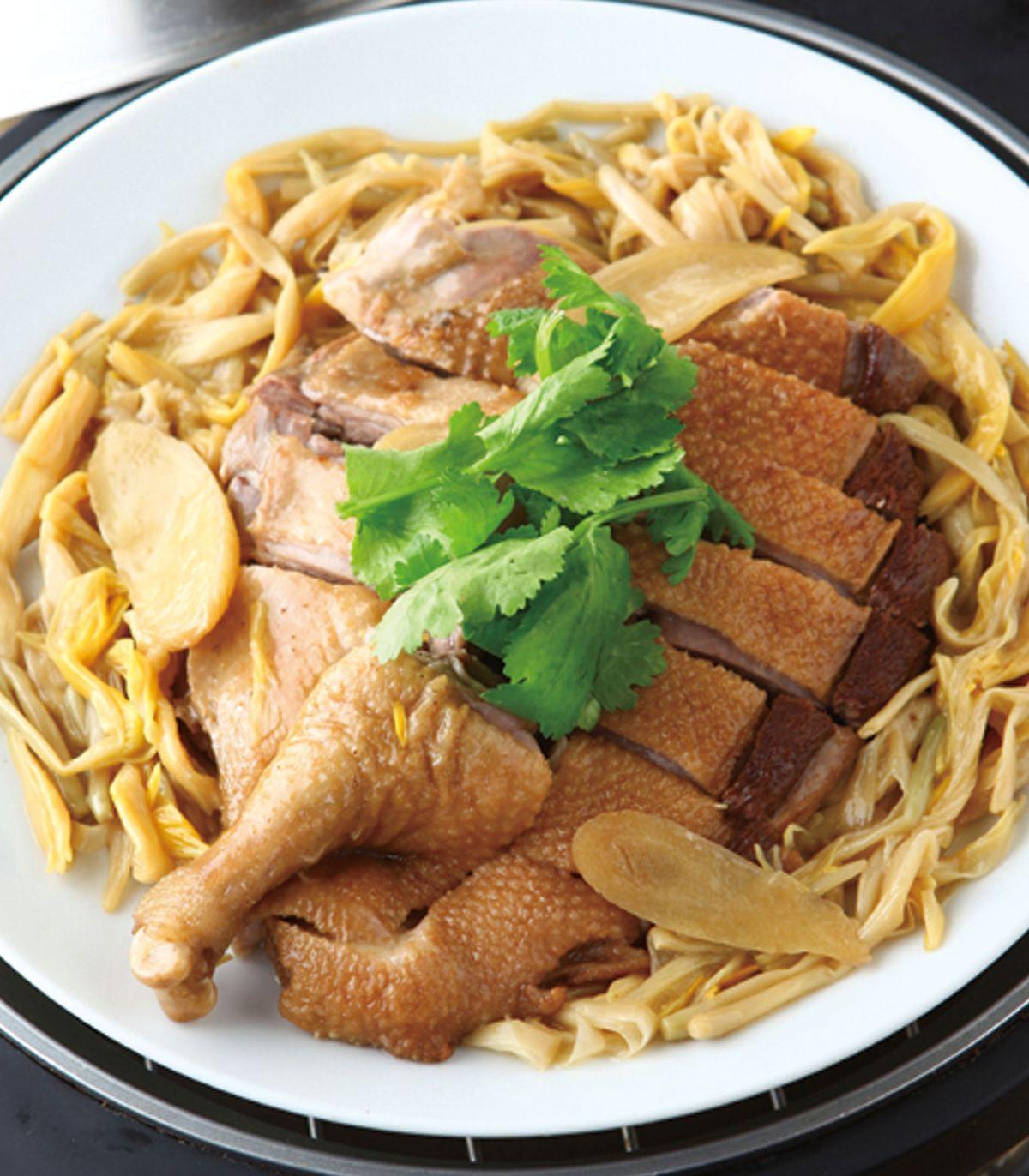 食譜:金針燉鴨