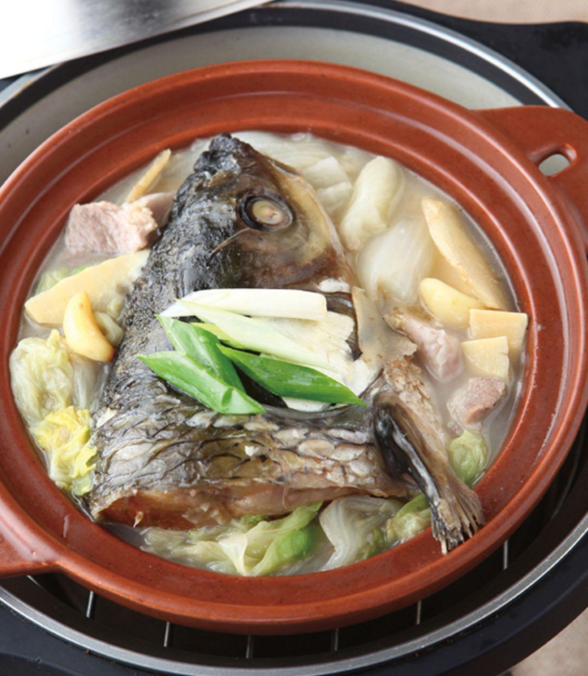 食譜:砂鍋魚頭(9)
