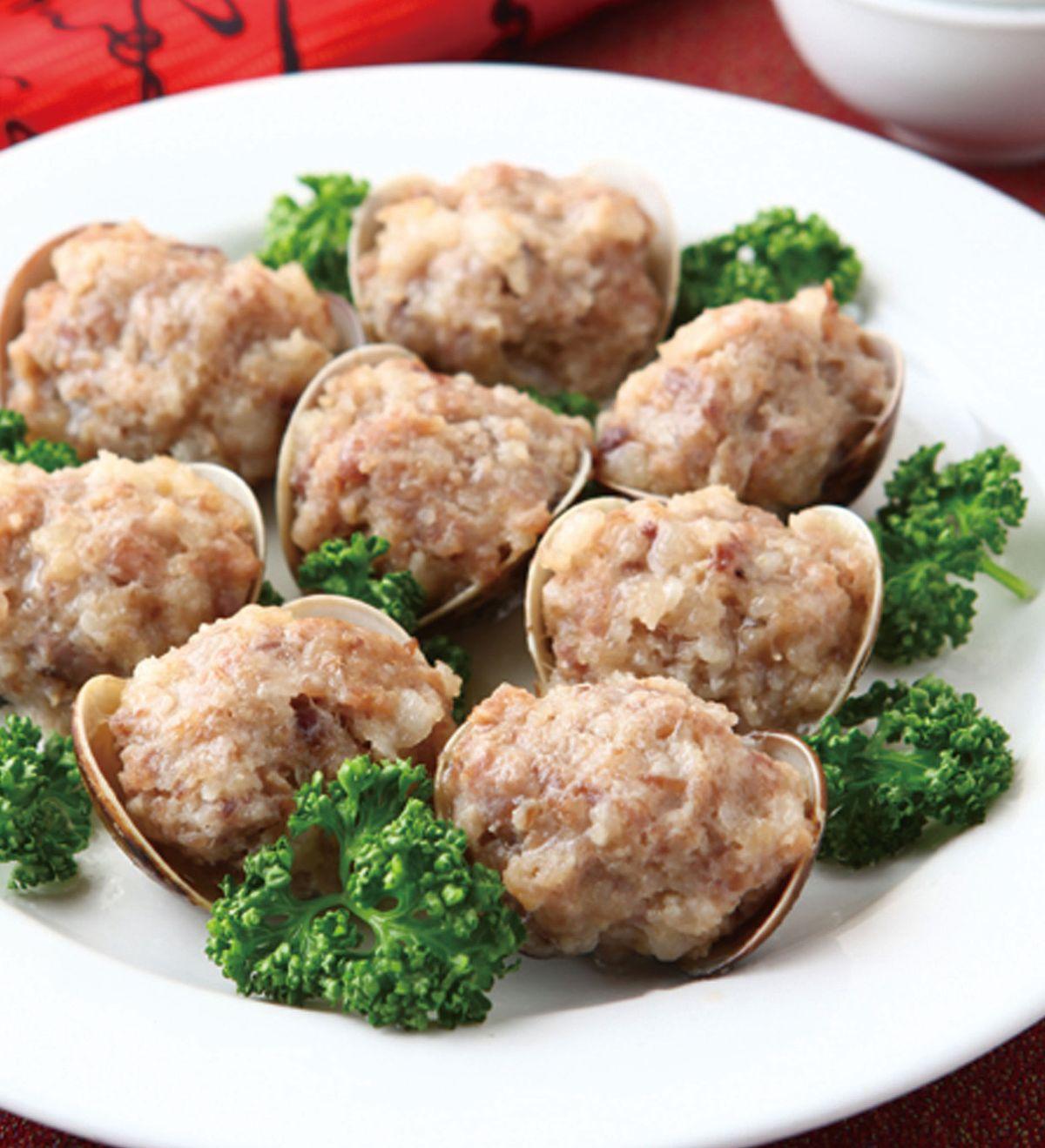 食譜:蛤蜊釀肉