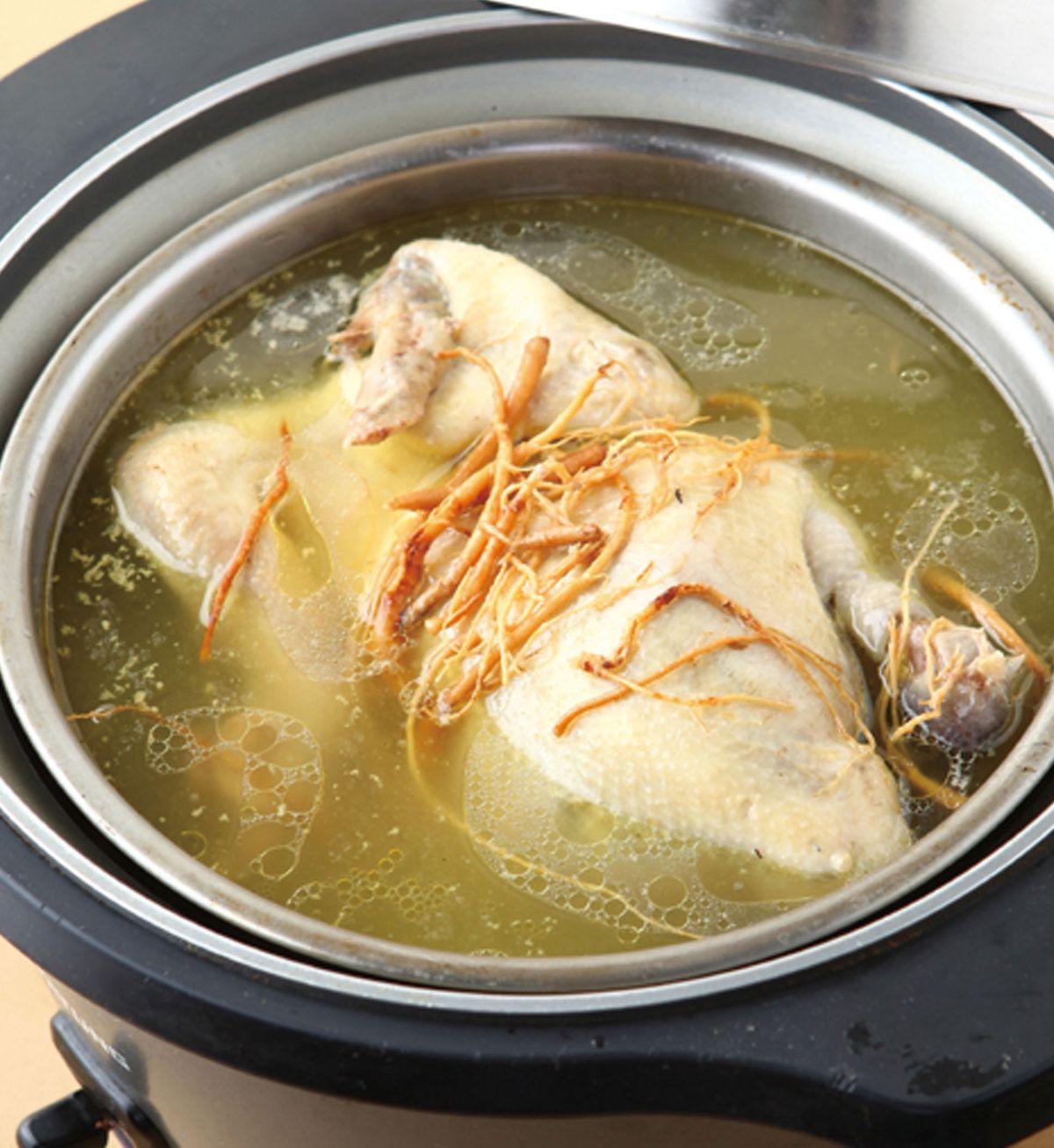 食譜:參鬚燉雞