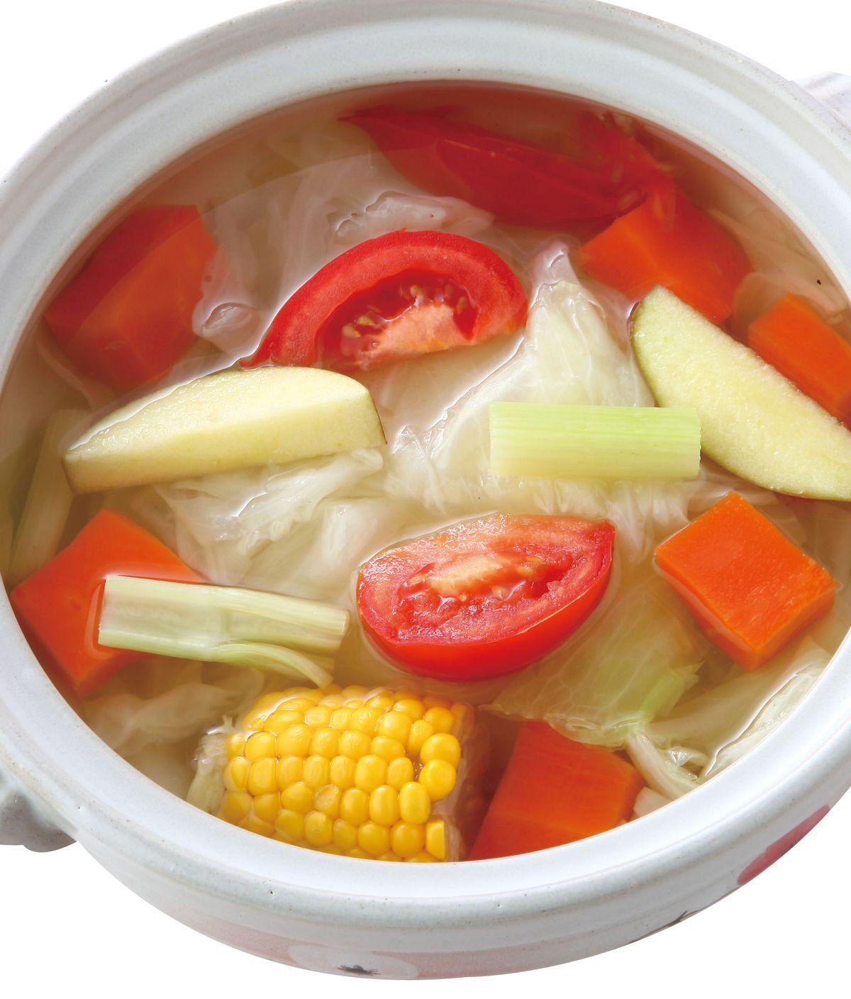 食譜:蔬果高湯(1)