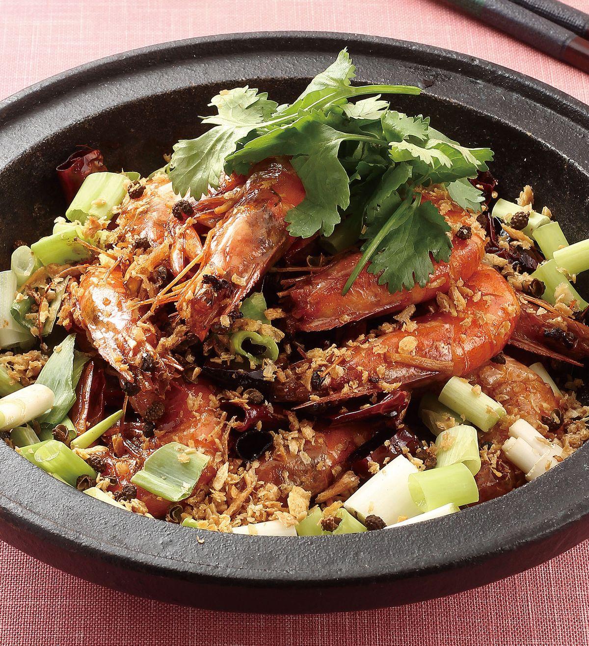 食譜:乾鍋香辣蝦