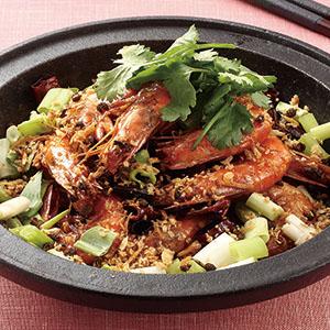 乾鍋香辣蝦