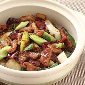 乾鍋牛肉(1)
