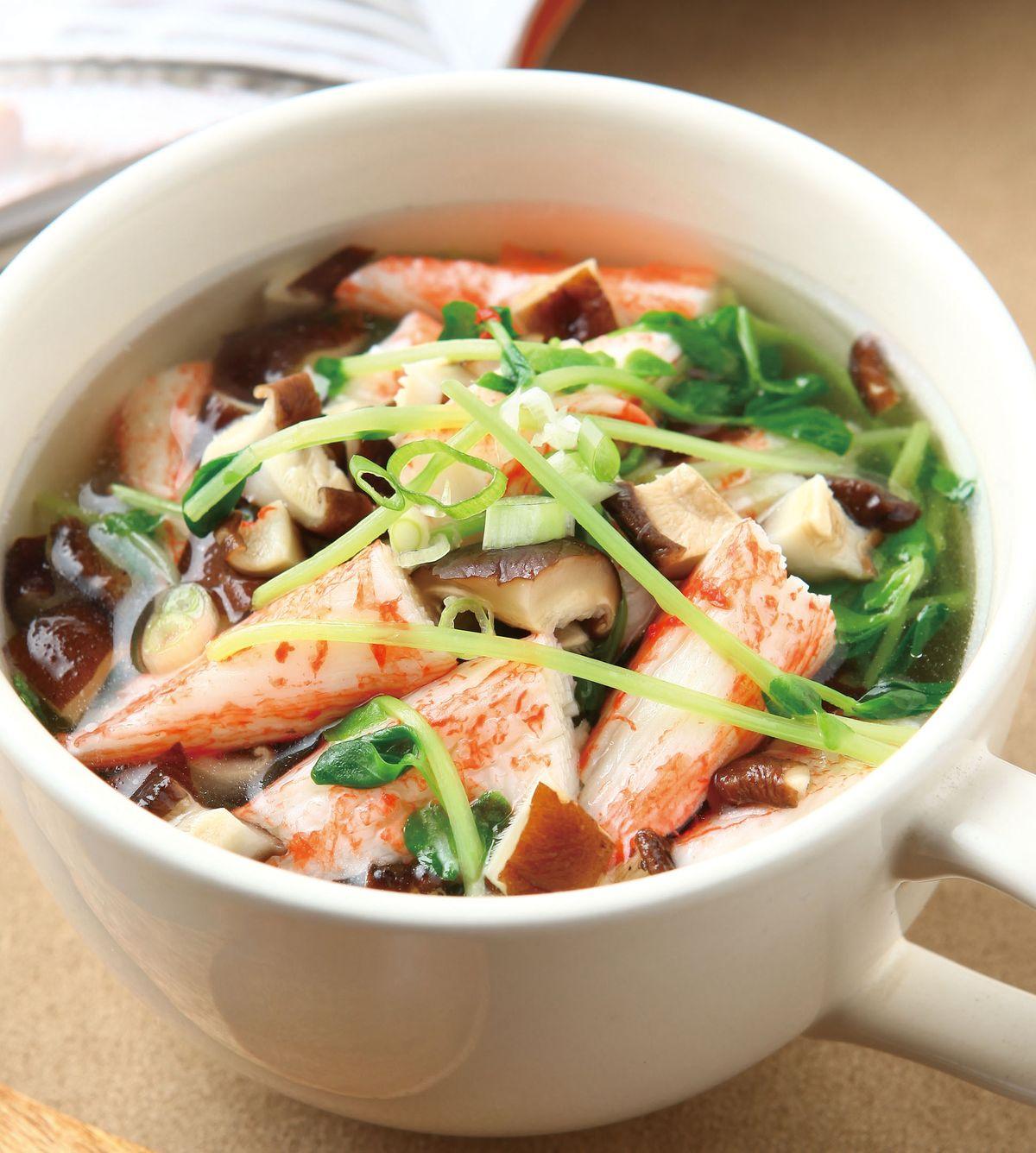 食譜:香菇海味湯