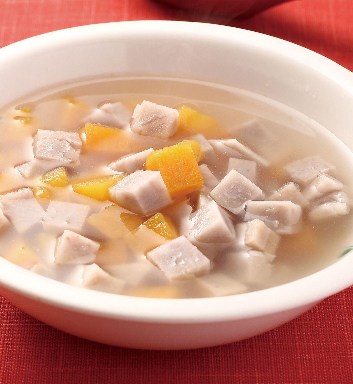 食譜:地瓜芋頭甜湯