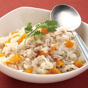 南瓜肉丁燉飯