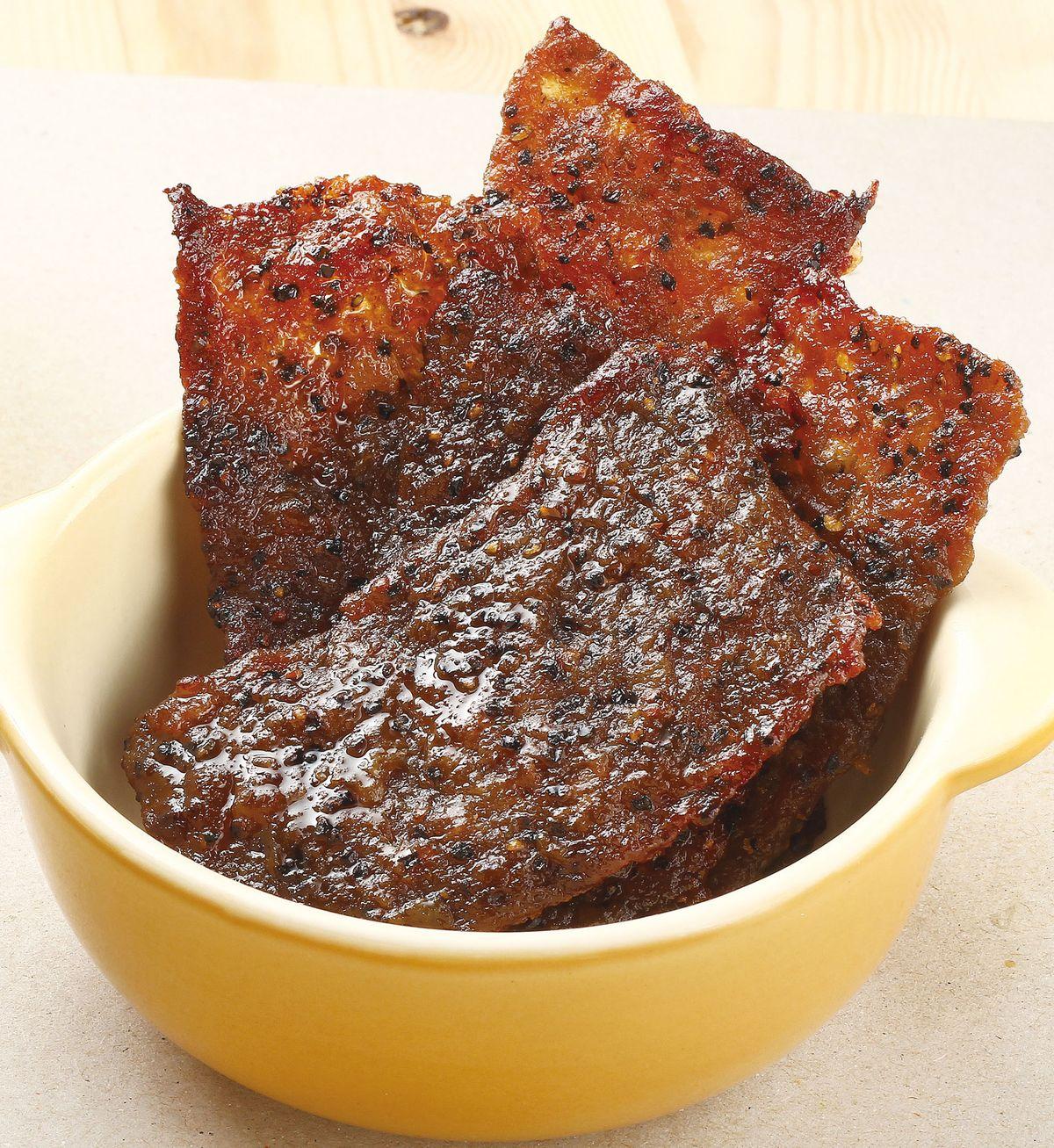 食譜:黑胡椒肉乾
