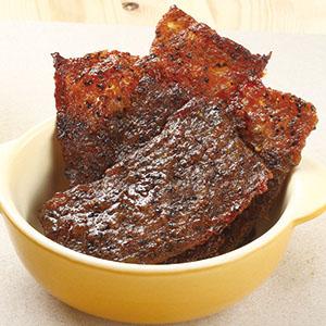 黑胡椒肉乾