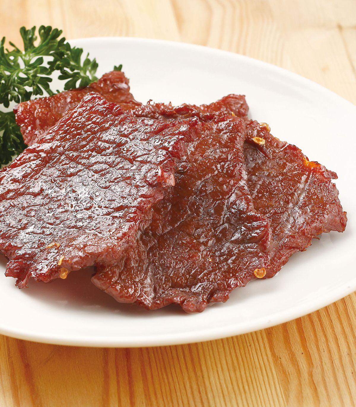 食譜:辣味牛肉乾(1)