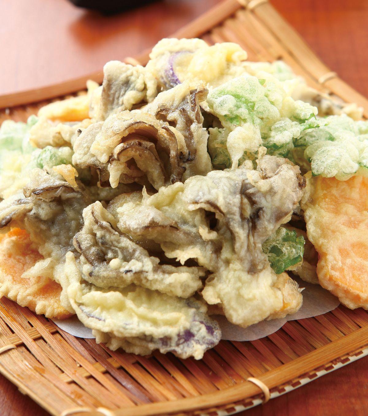 食譜:舞菇天婦羅