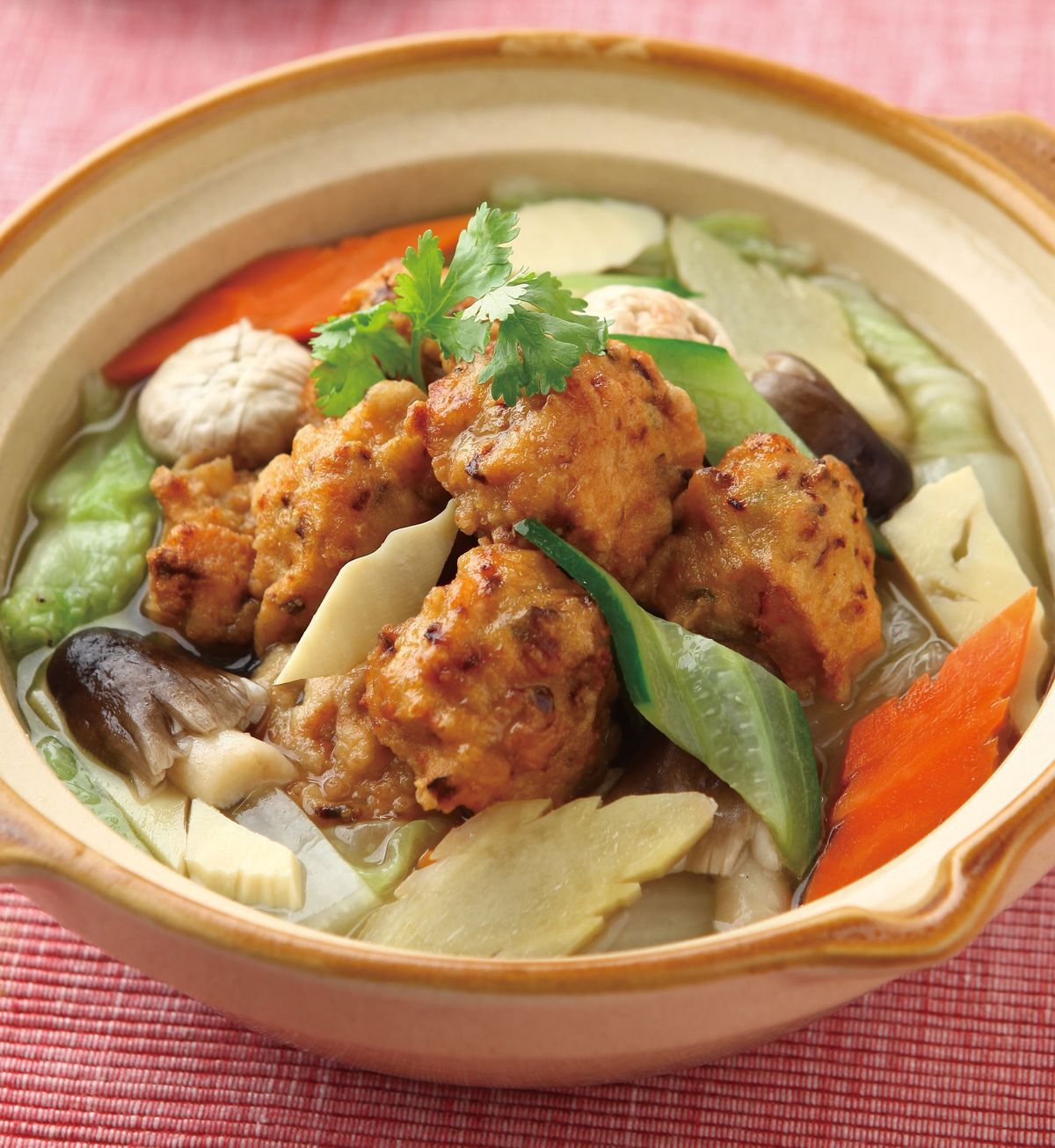 食譜:砂鍋素丸子