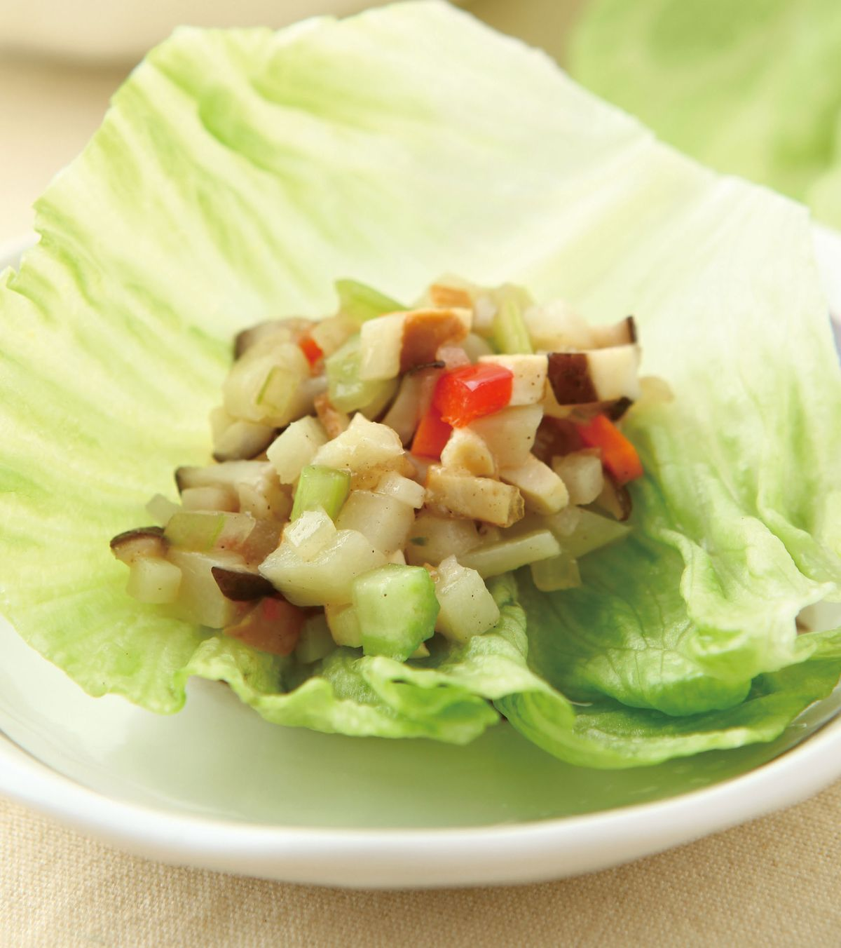 食譜:生菜蔬食香鬆