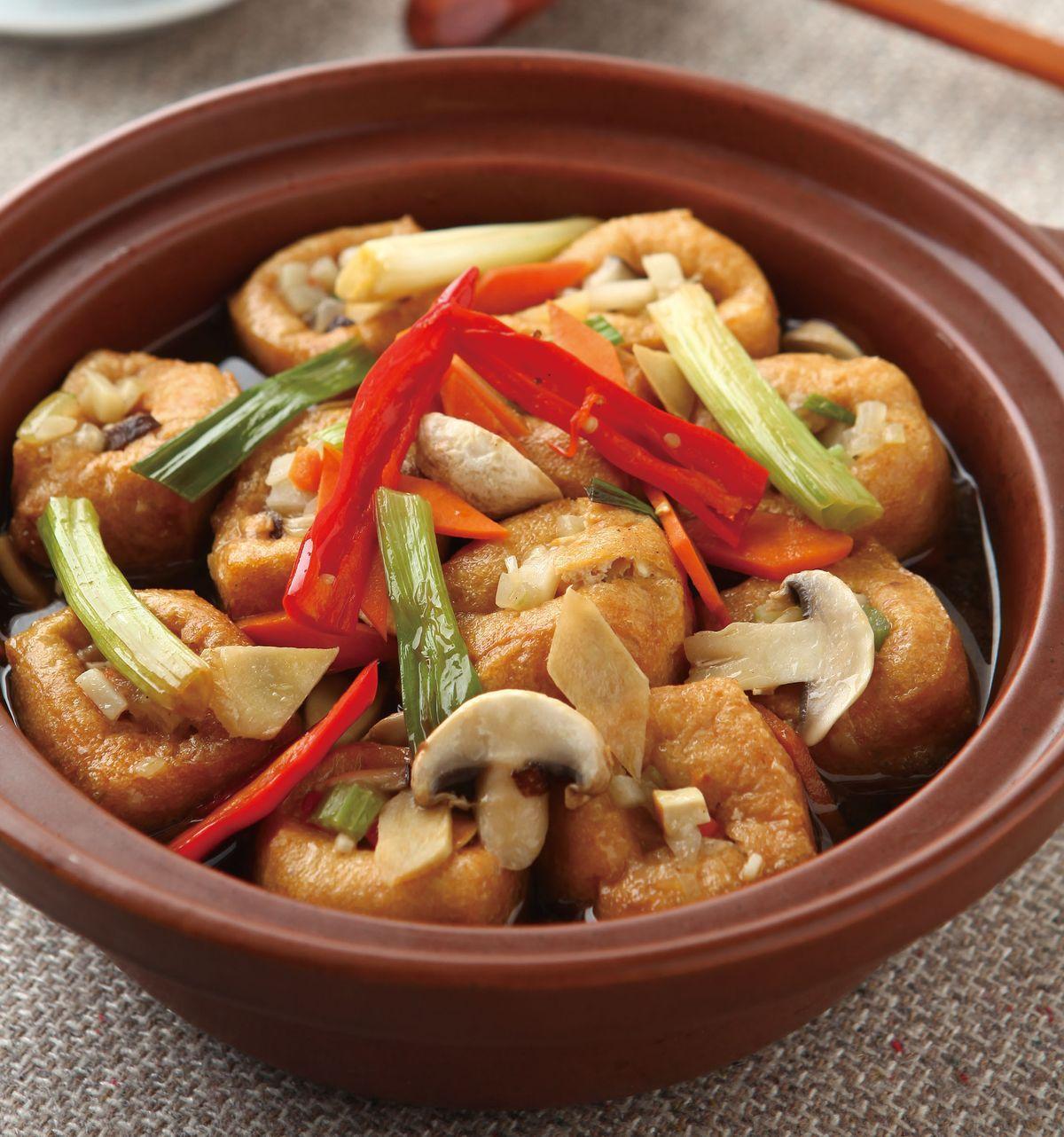 食譜:豆腐煲(2)