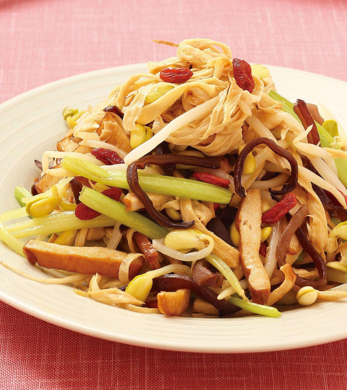 食譜:什錦素菜