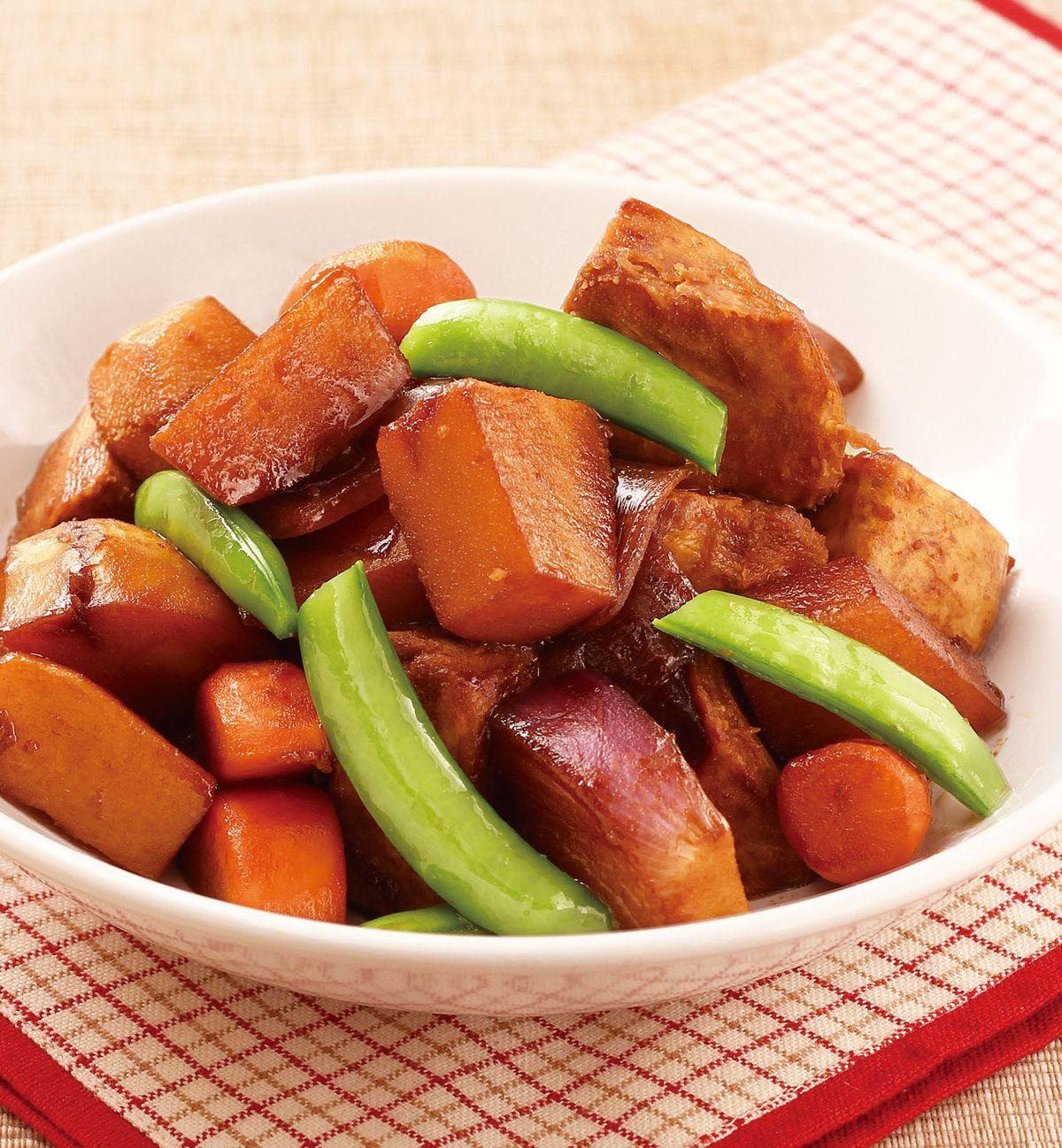 食譜:根莖蔬菜煮