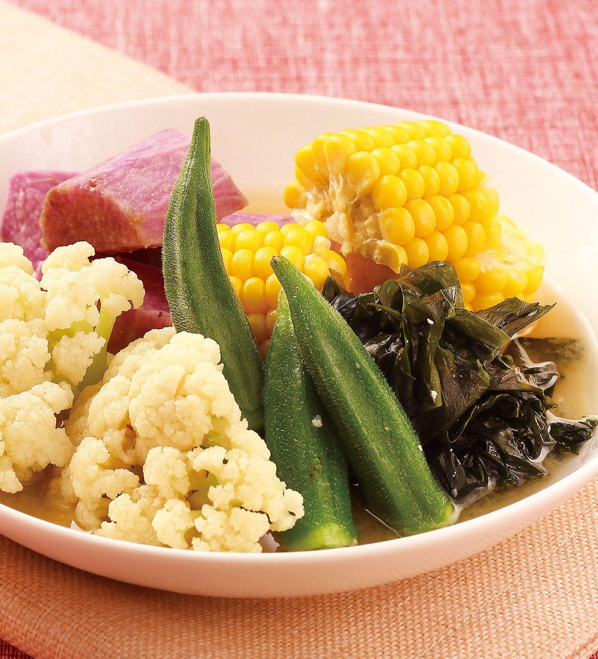 食譜:清煮時蔬