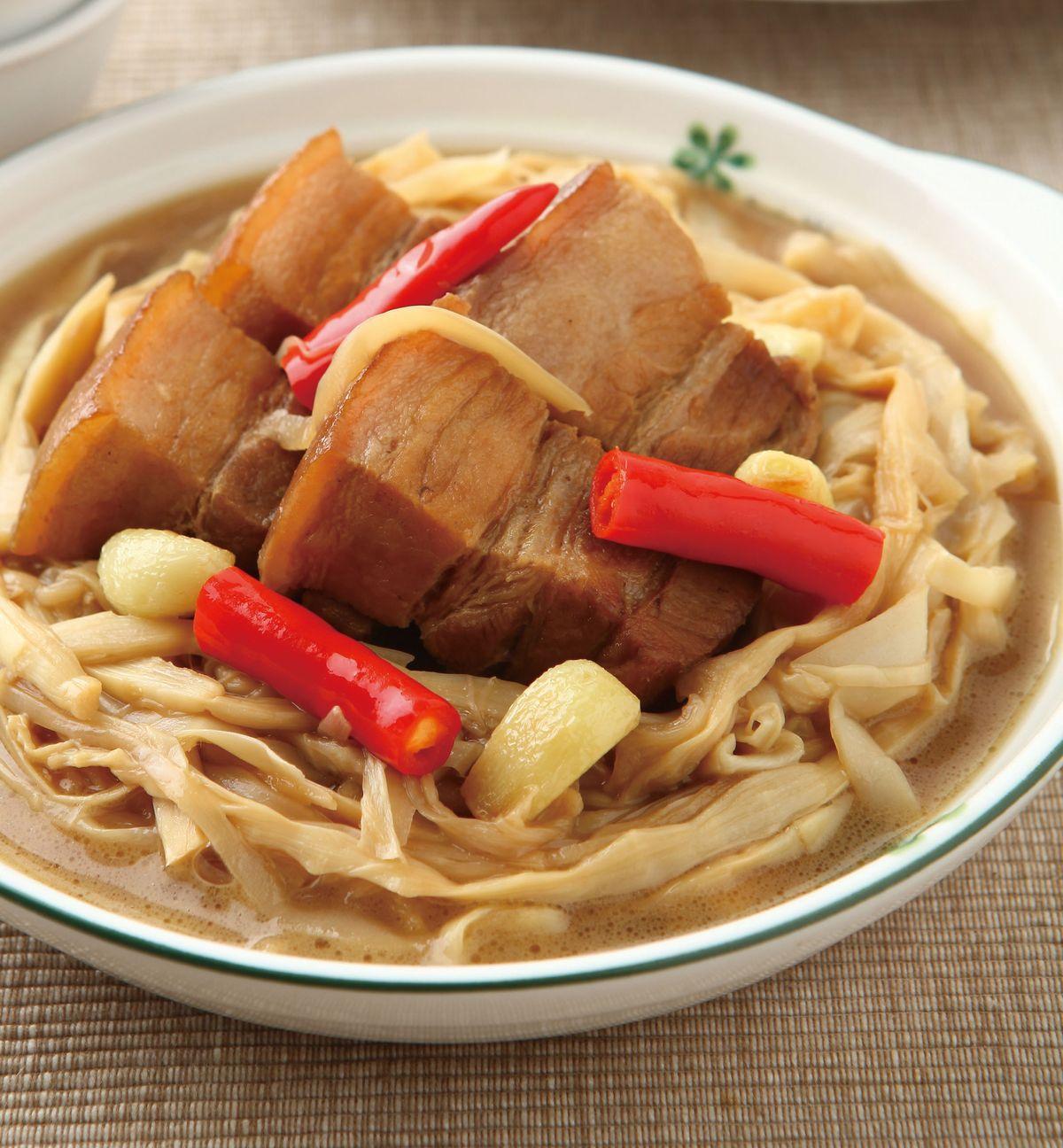 食譜:筍干滷肉(1)