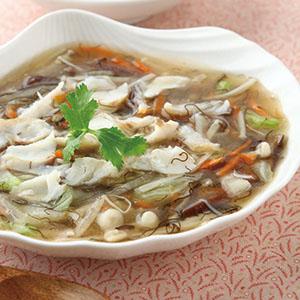 髮菜魚羹(1)