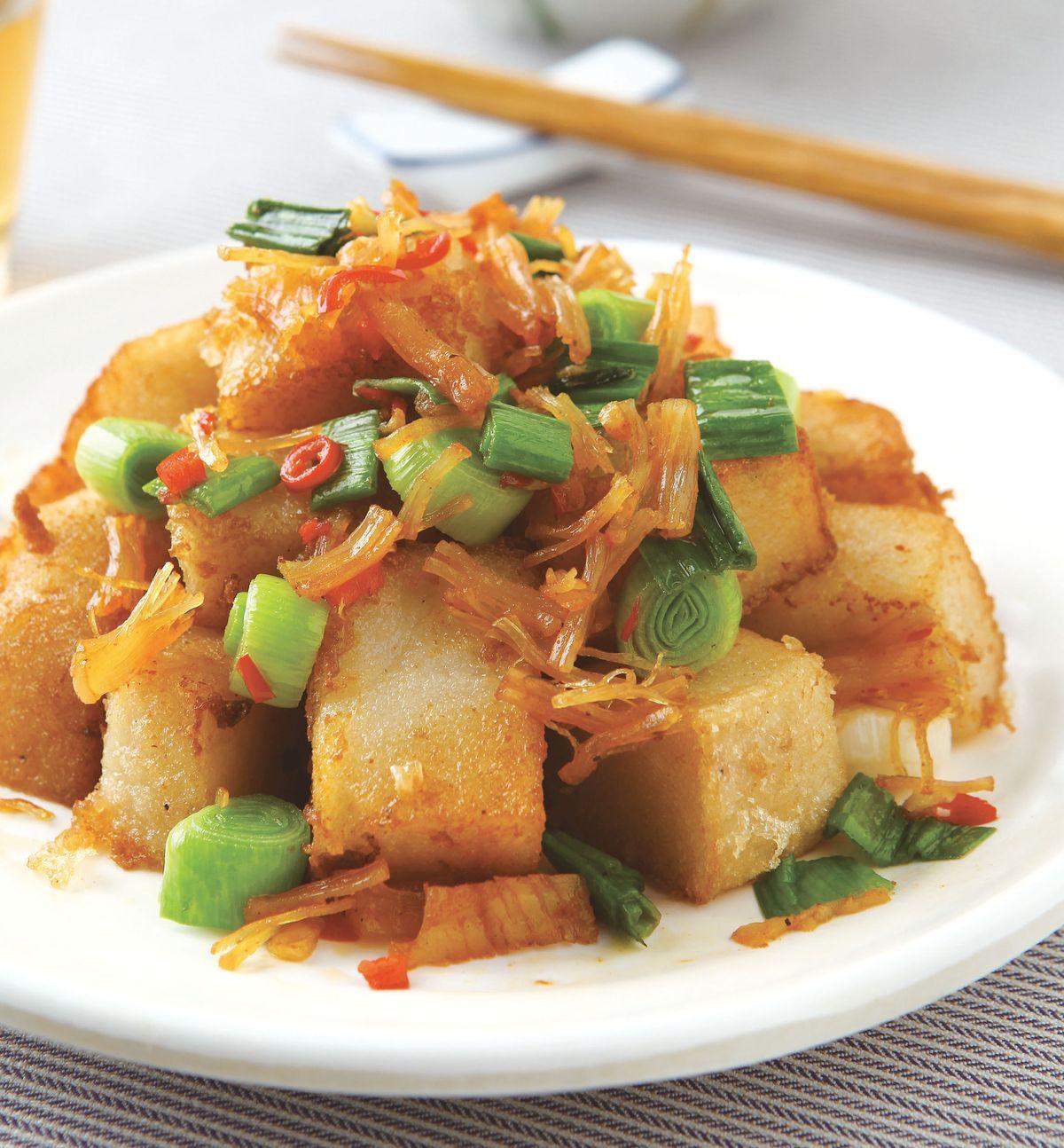 食譜:XO醬炒蘿蔔糕(3)