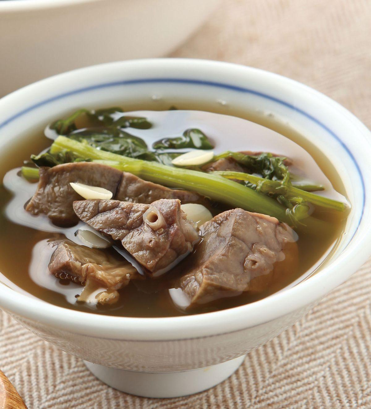 食譜:西洋菜豬肺湯