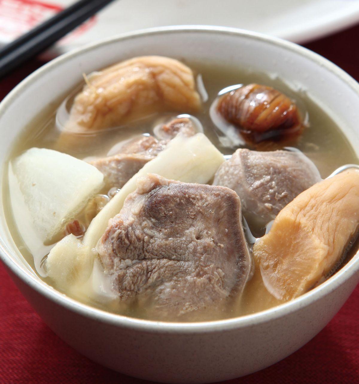 食譜:金銀菜煲豬舌