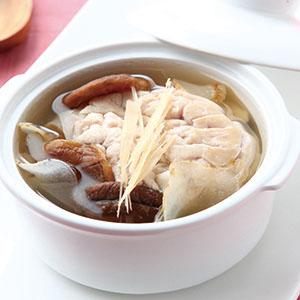 香菇天麻豬腦湯