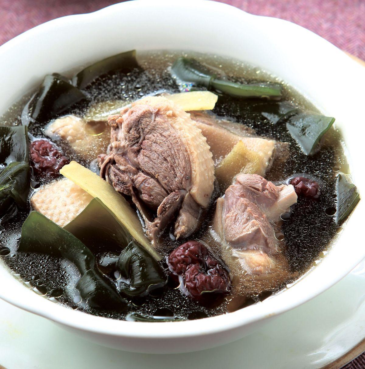 食譜:紅棗海帶老鴨湯