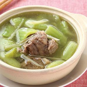 芥菜胡椒牛肉湯
