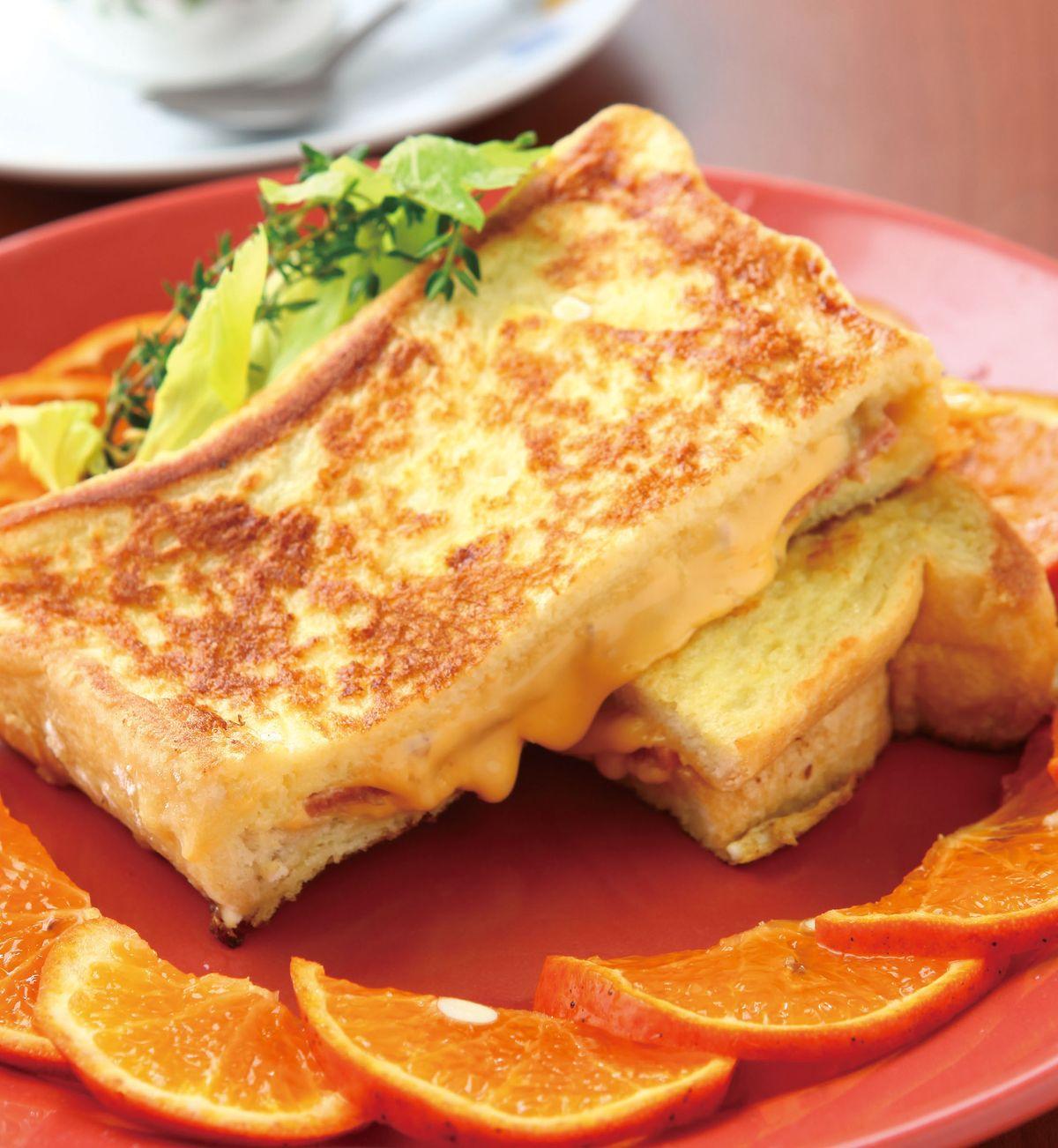食譜:法式土司三明治