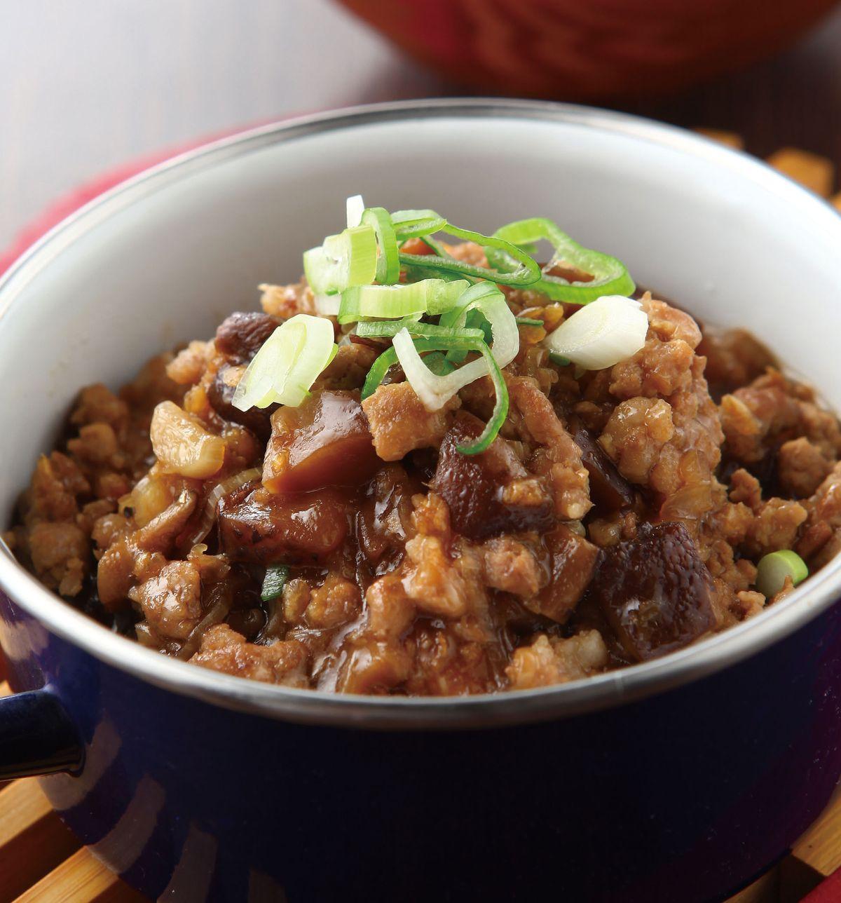 食譜:香菇肉醬