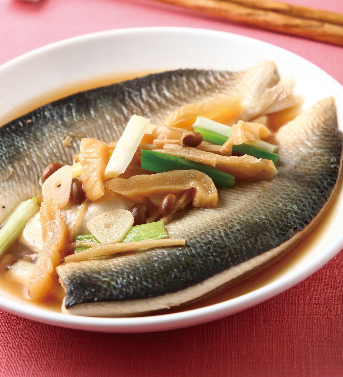 食譜:醃瓜燜虱目魚肚