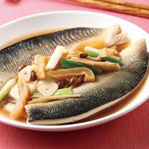 醃瓜燜虱目魚肚