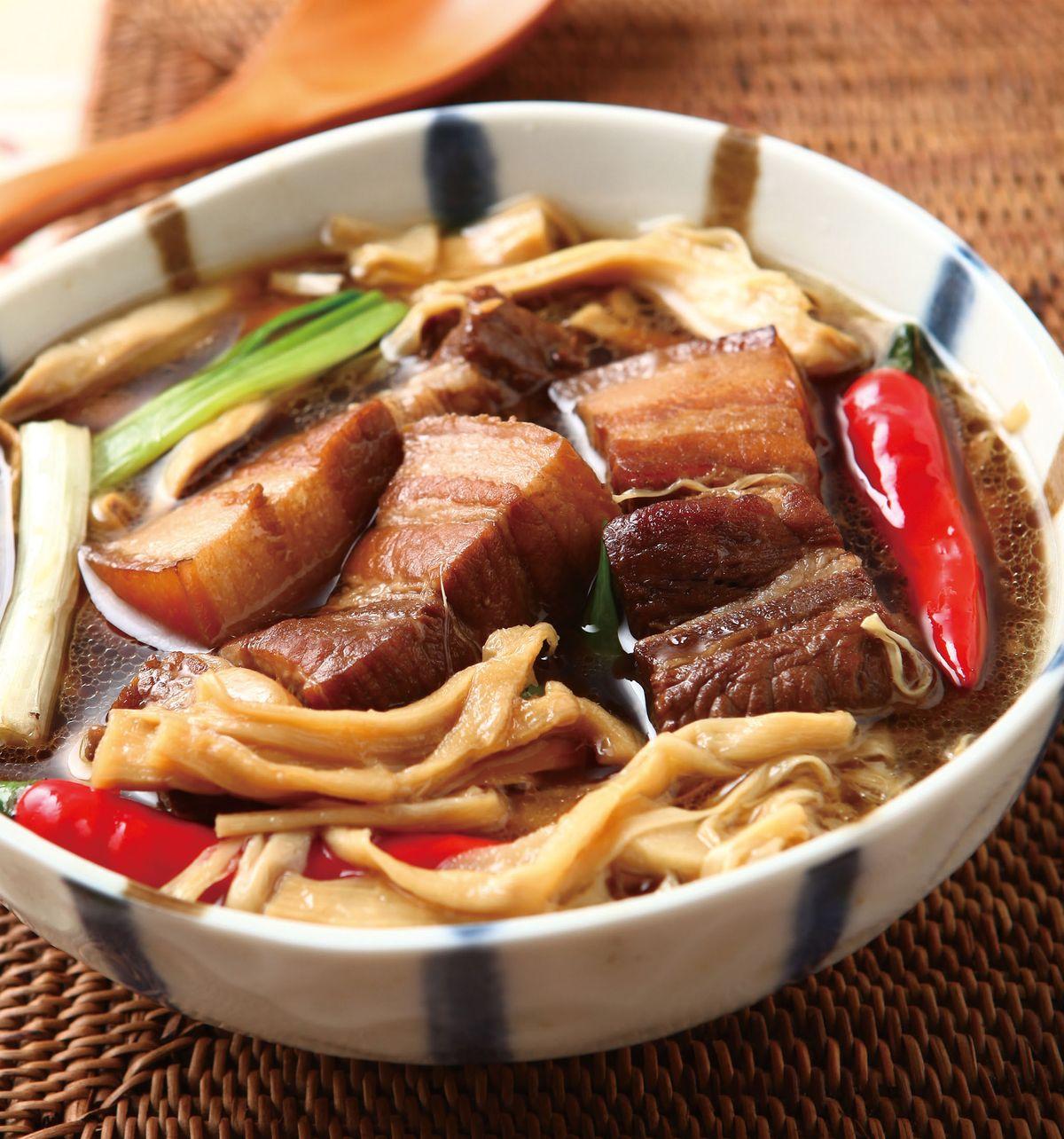 食譜:筍干滷肉(2)