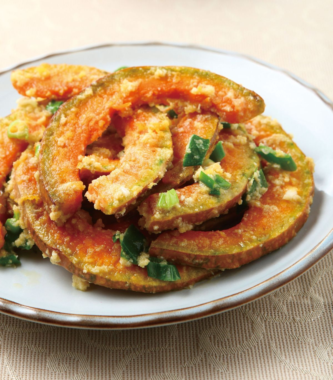 食譜:鹹蛋炒南瓜(1)