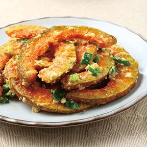 鹹蛋炒南瓜(1)