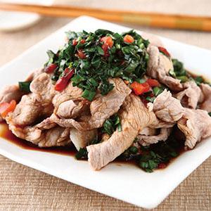韭香涮肉片