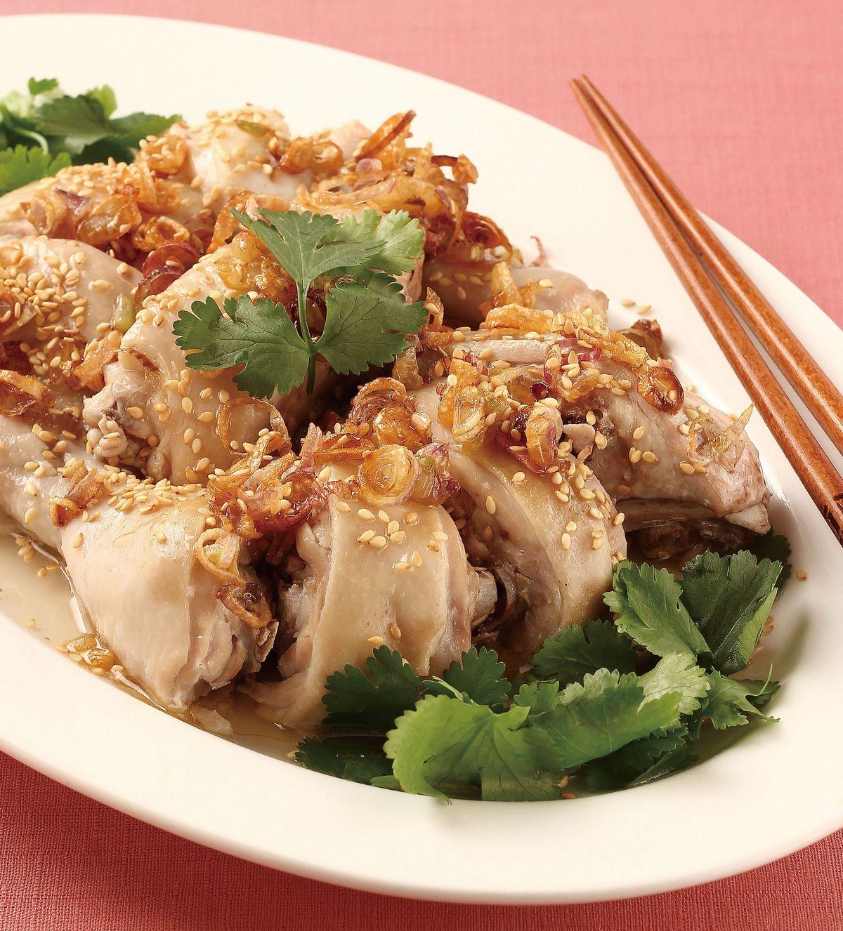 食譜:芝麻香蔥雞(1)