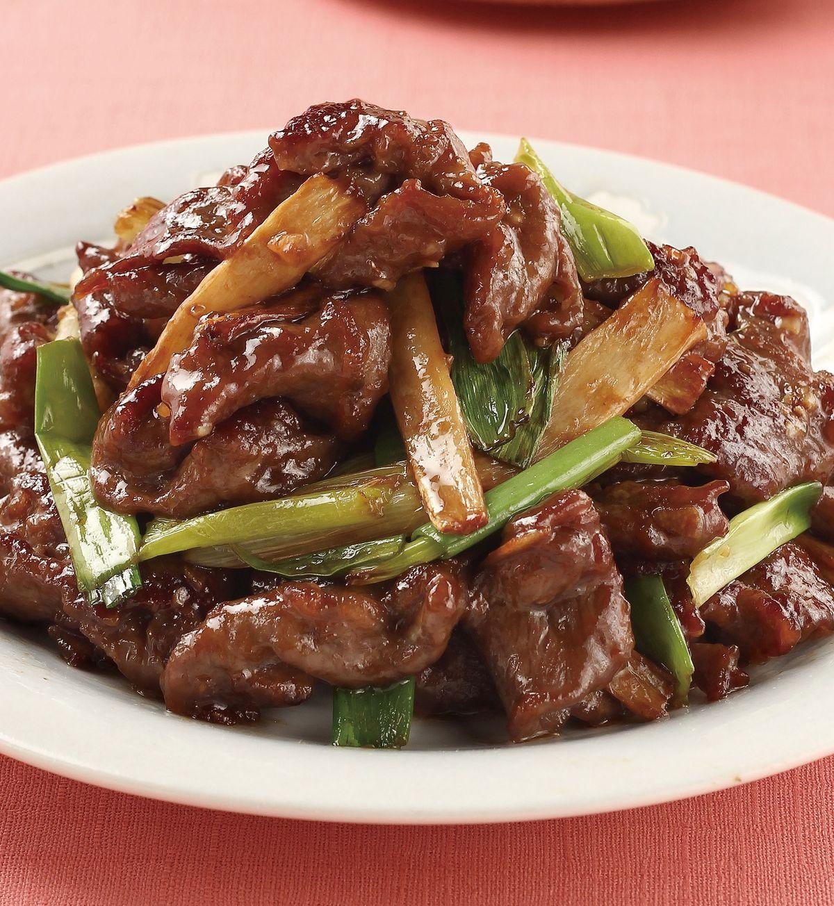食譜:薑蔥炒牛肉