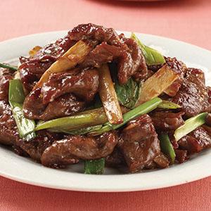 薑蔥炒牛肉