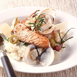 海鮮迷迭香燉飯