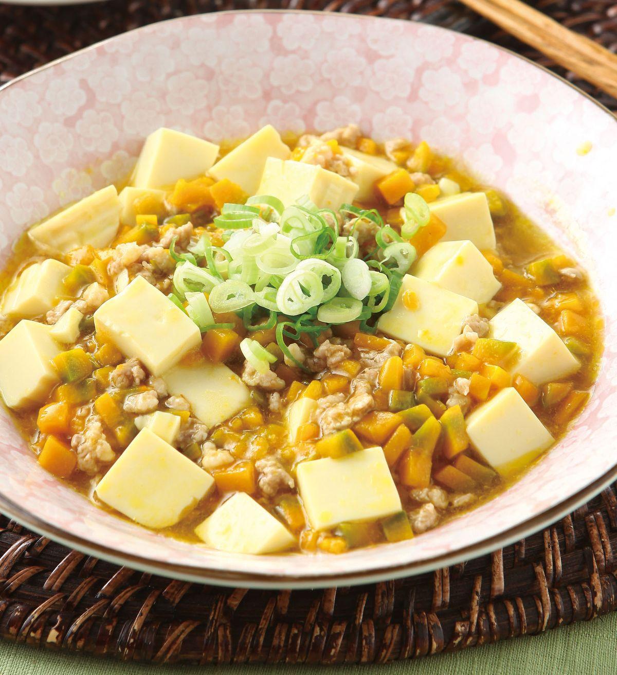 食譜:鮮美南瓜燒豆腐