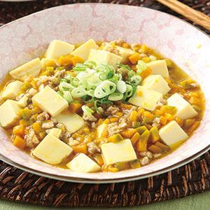鮮美南瓜燒豆腐