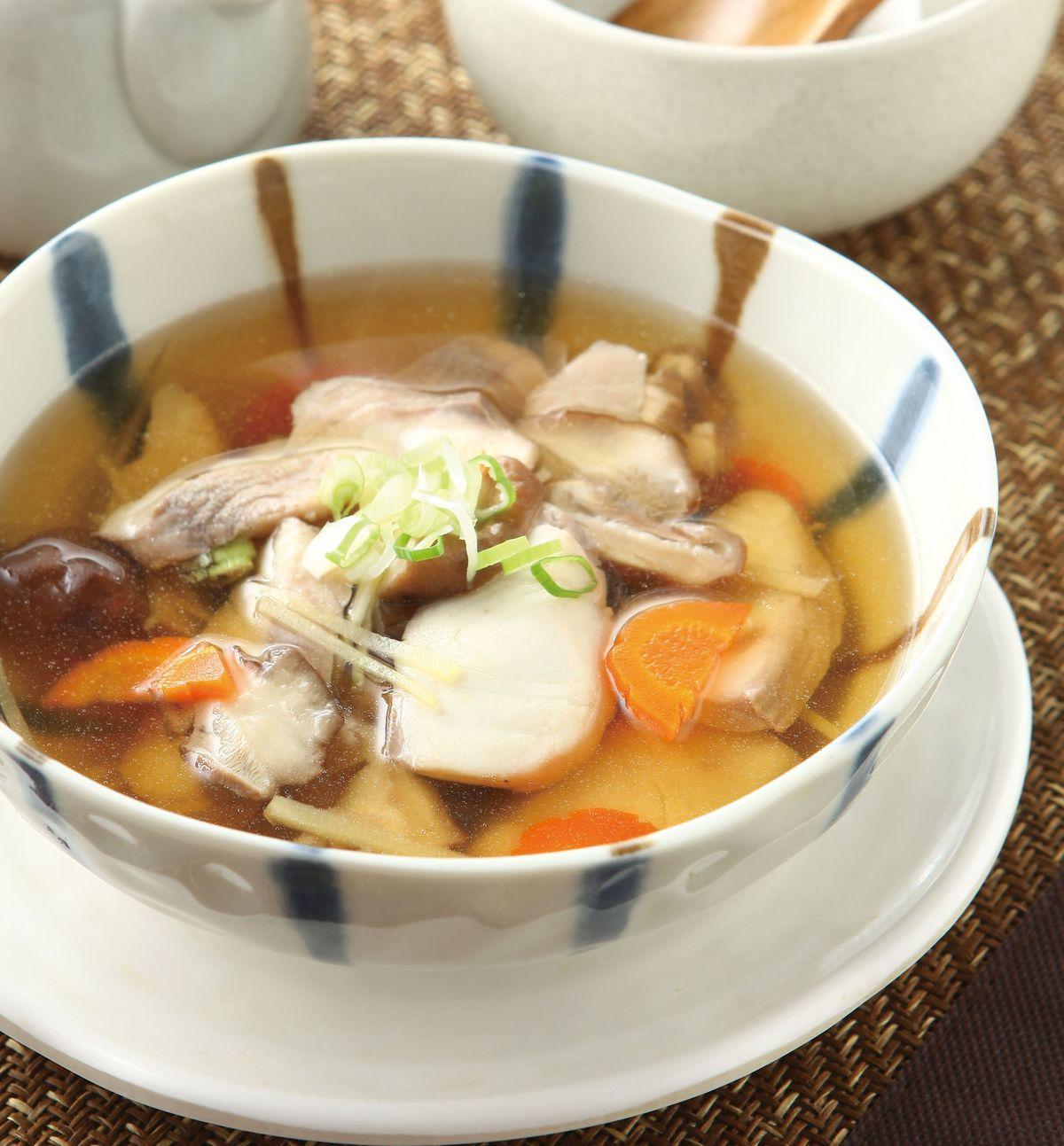食譜:魚片鮮菇湯(1)