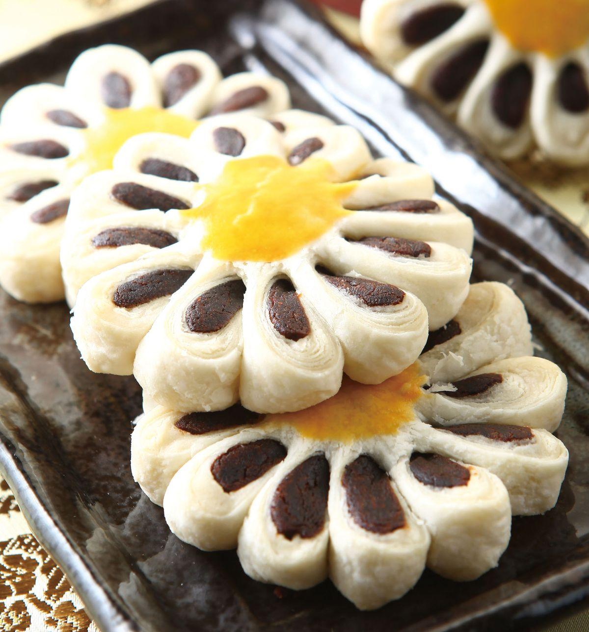 食譜:菊花酥(1)