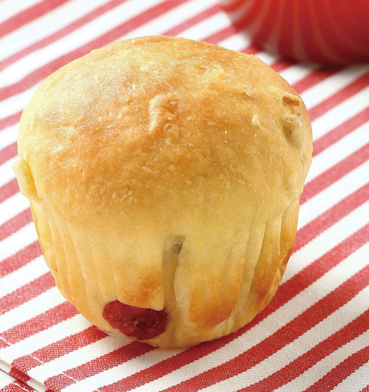 食譜:蜜餞水果小餐包