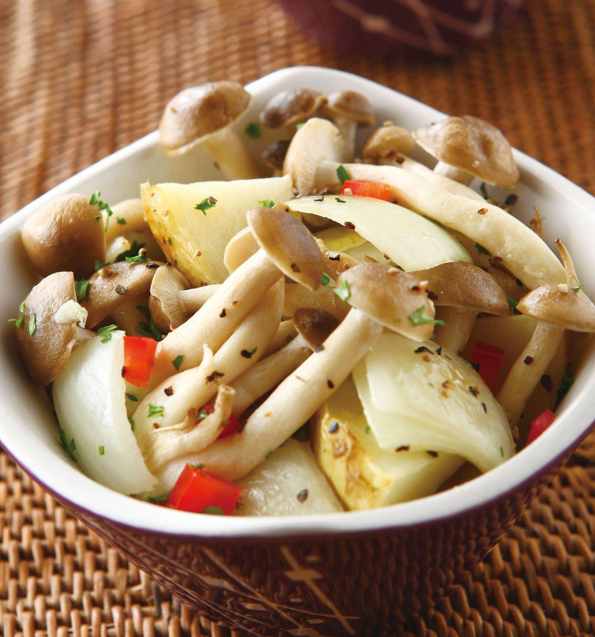 食譜:洋芋烤鴻喜菇